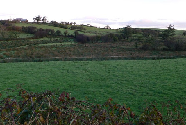 A landscape in county Clare
