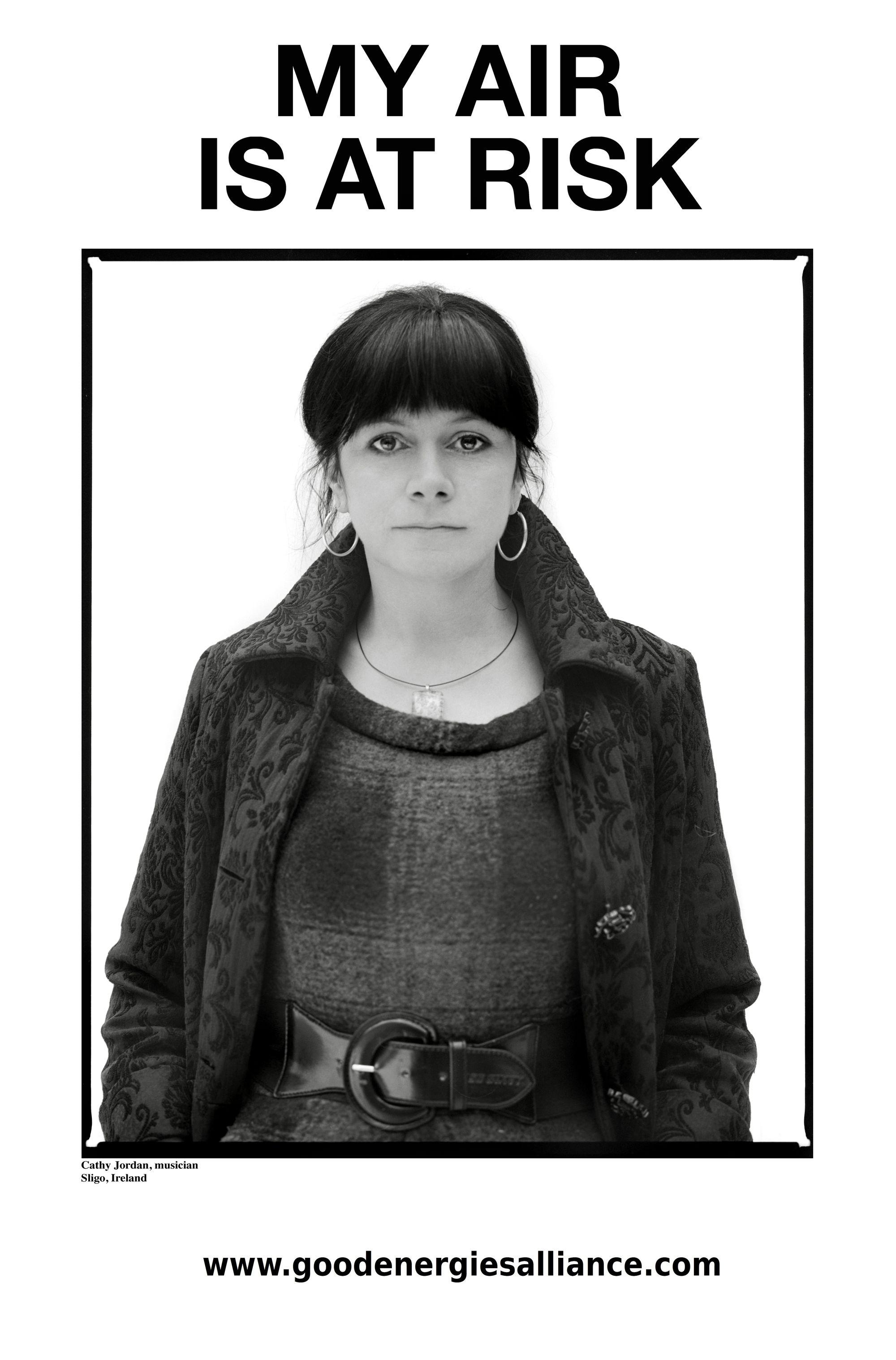 Cathy Jordan poster
