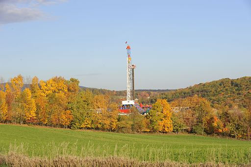 Horizontal Drilling Rig fracking