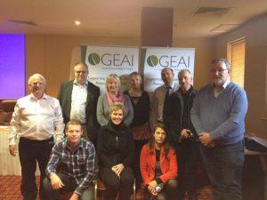 GEAI members with Deborah Rogers