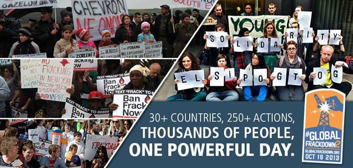 Global Frackdown day 2013