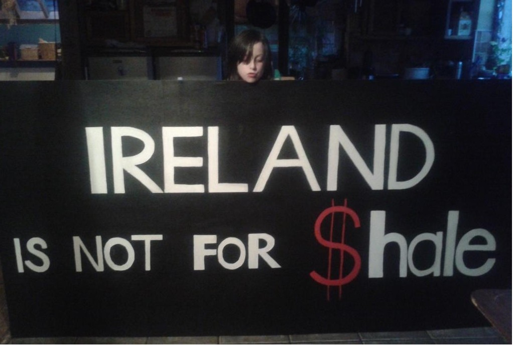 fracking ireland is not for shale