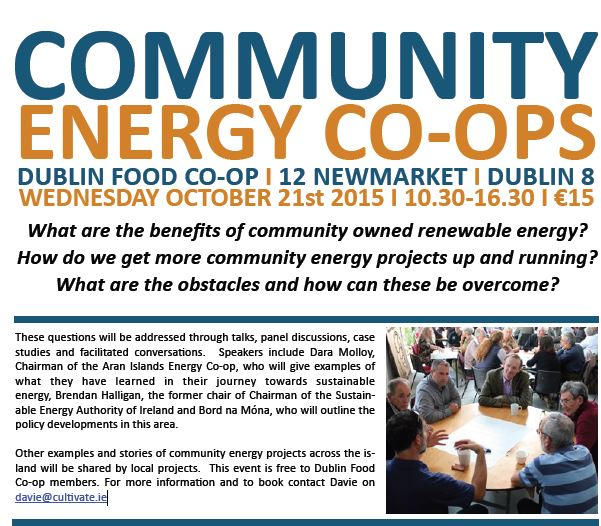 COMMUNITY ENERGY CO-OPS