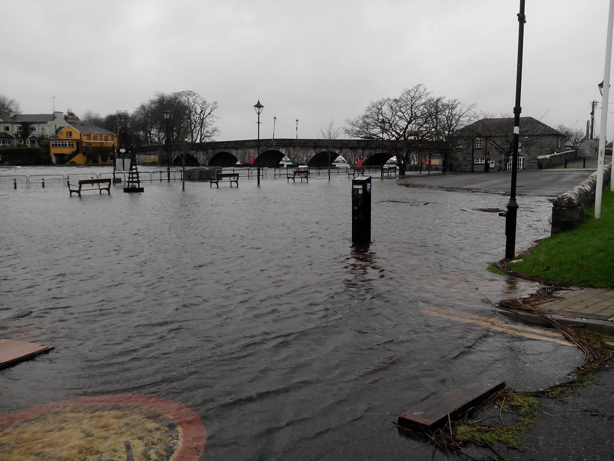 Carrick-on-Shannon 2015 flood
