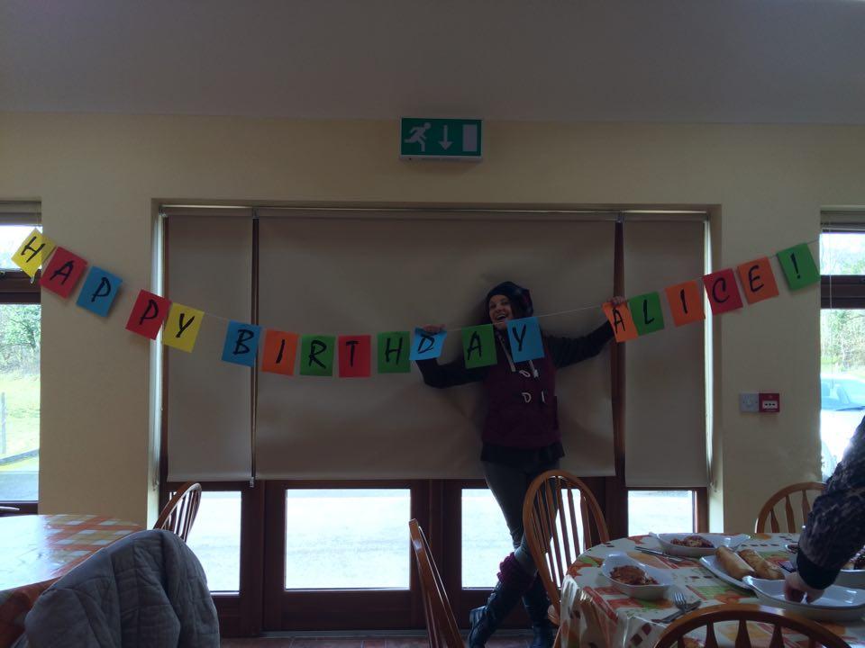 evs volunteers happy birthday alice