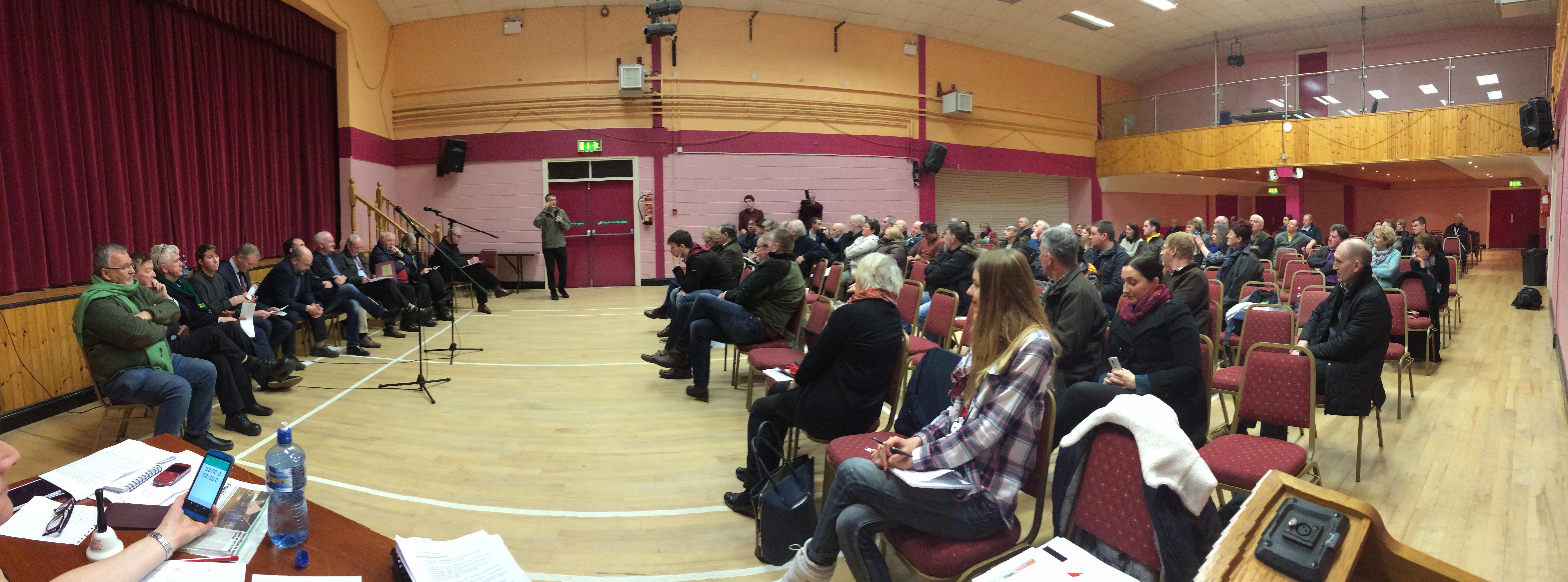 ireland frack free debate