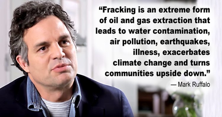 Mark Ruffalo Calls on Minister Durkan to Stop the Drill