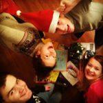 Christmas time evs volunteers