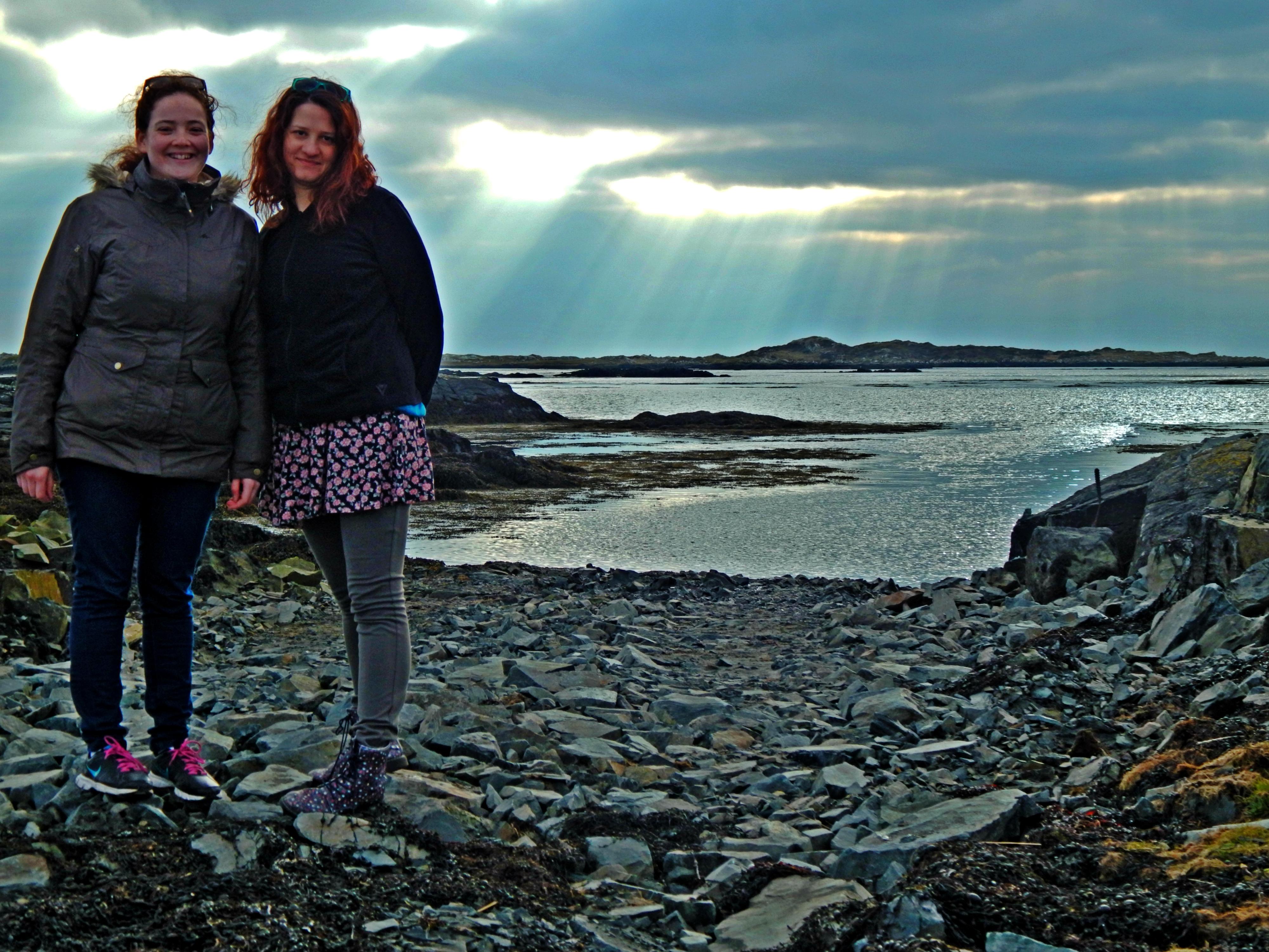 evs volunteers on the coast