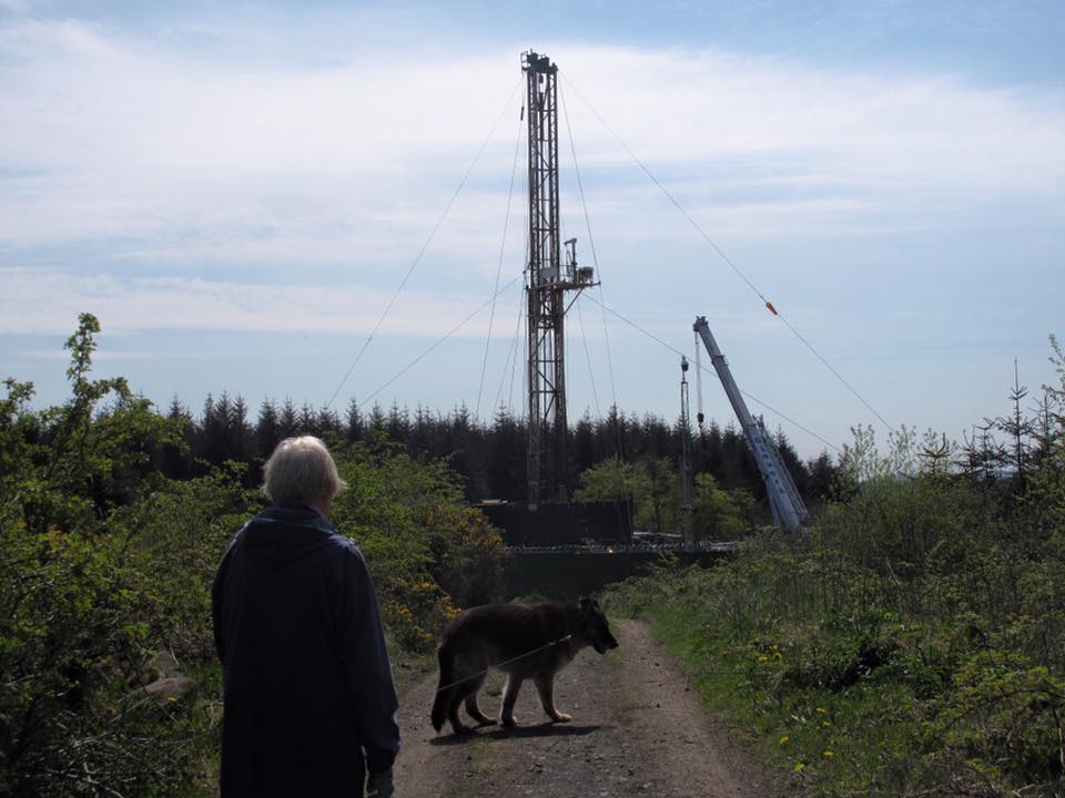 DRILLING IN WOODBURN FOREST