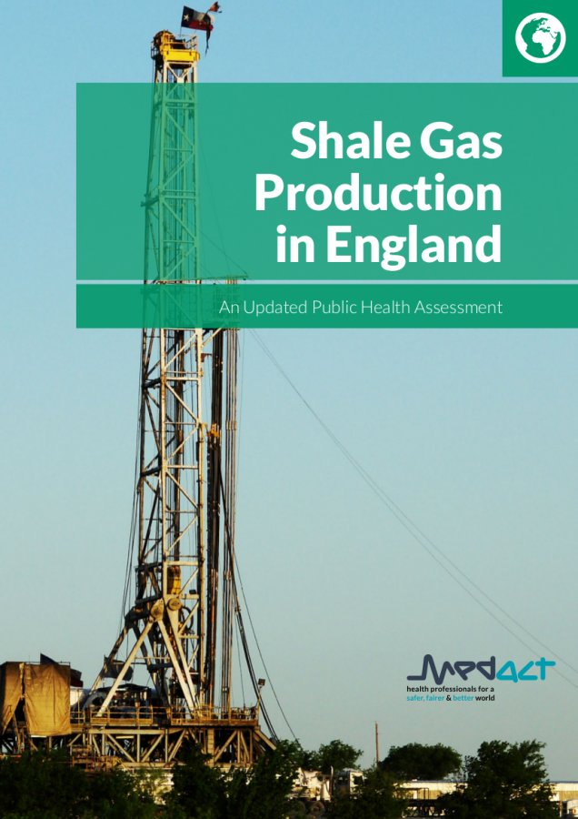 shale gas production in england cover