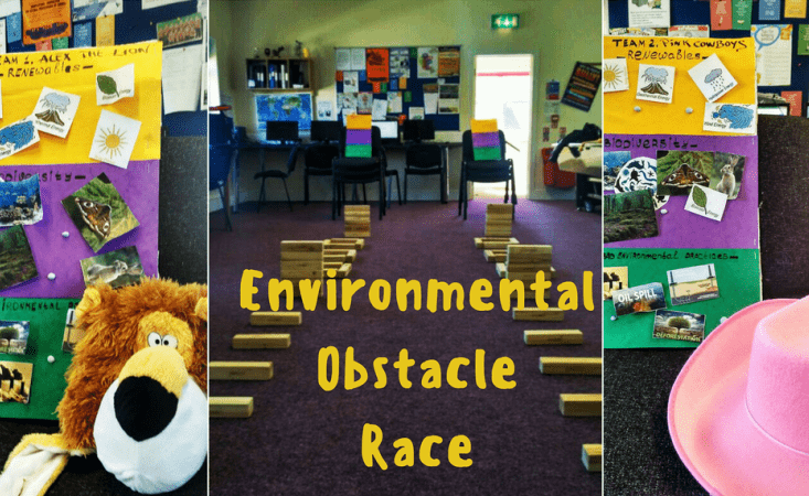 climate change school environmental obstacle race