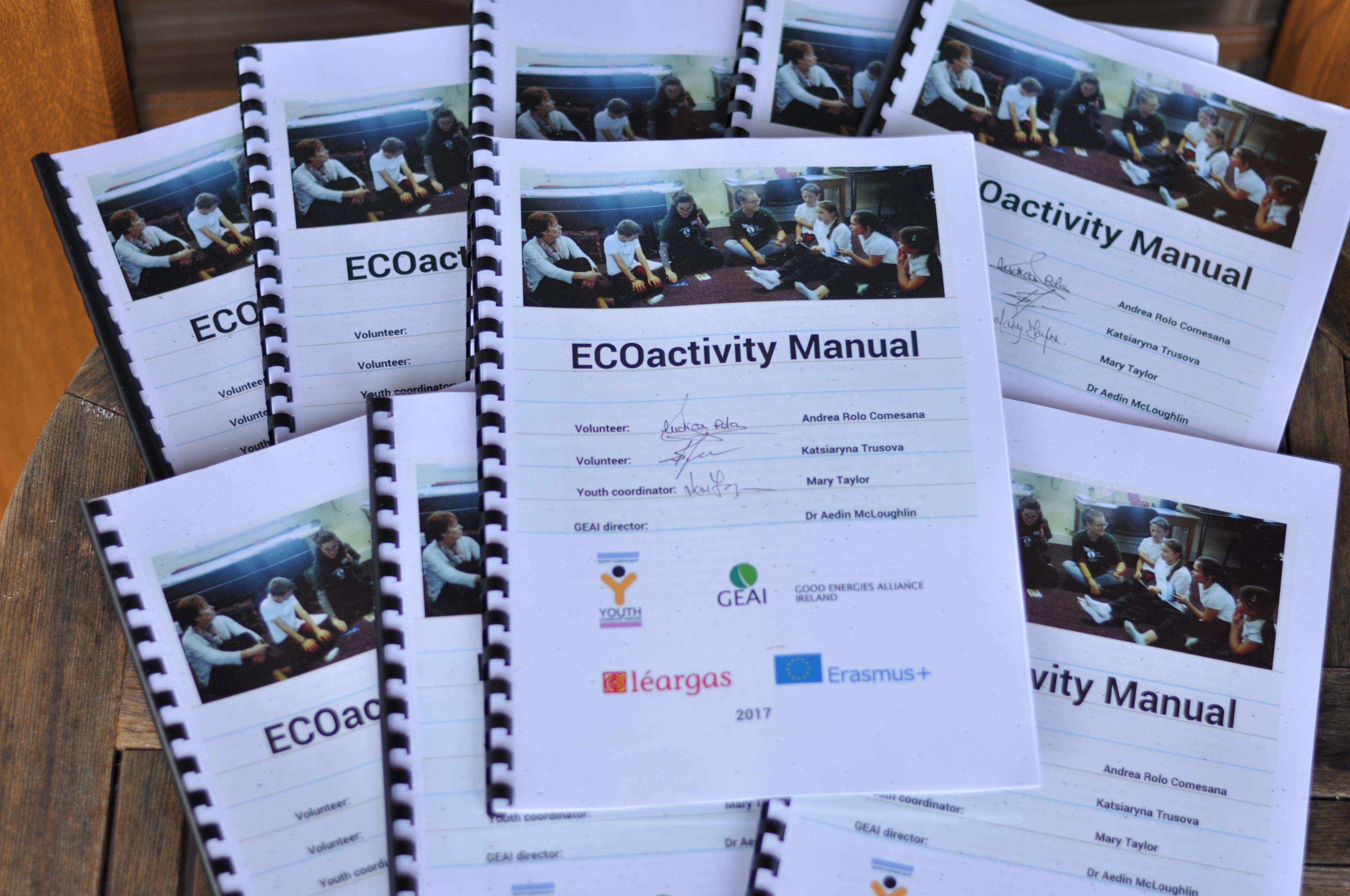 ecoactivity manual