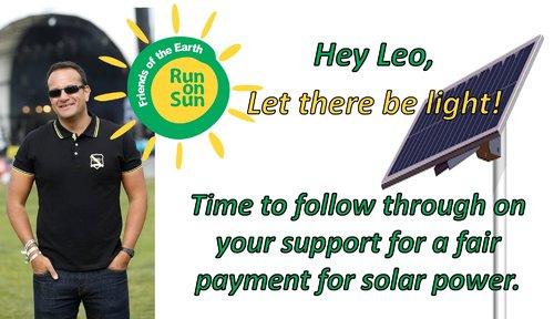 friends of earth run on sun