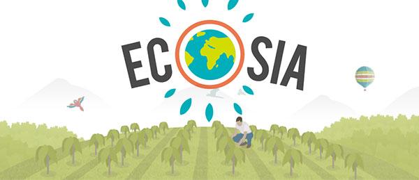Ecosia logo search engine