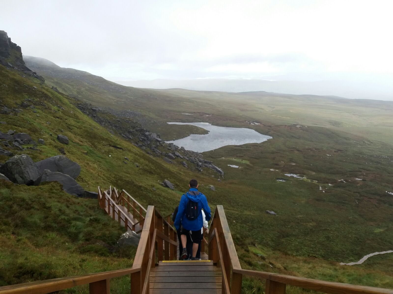 A day on Cuilcagh mountain