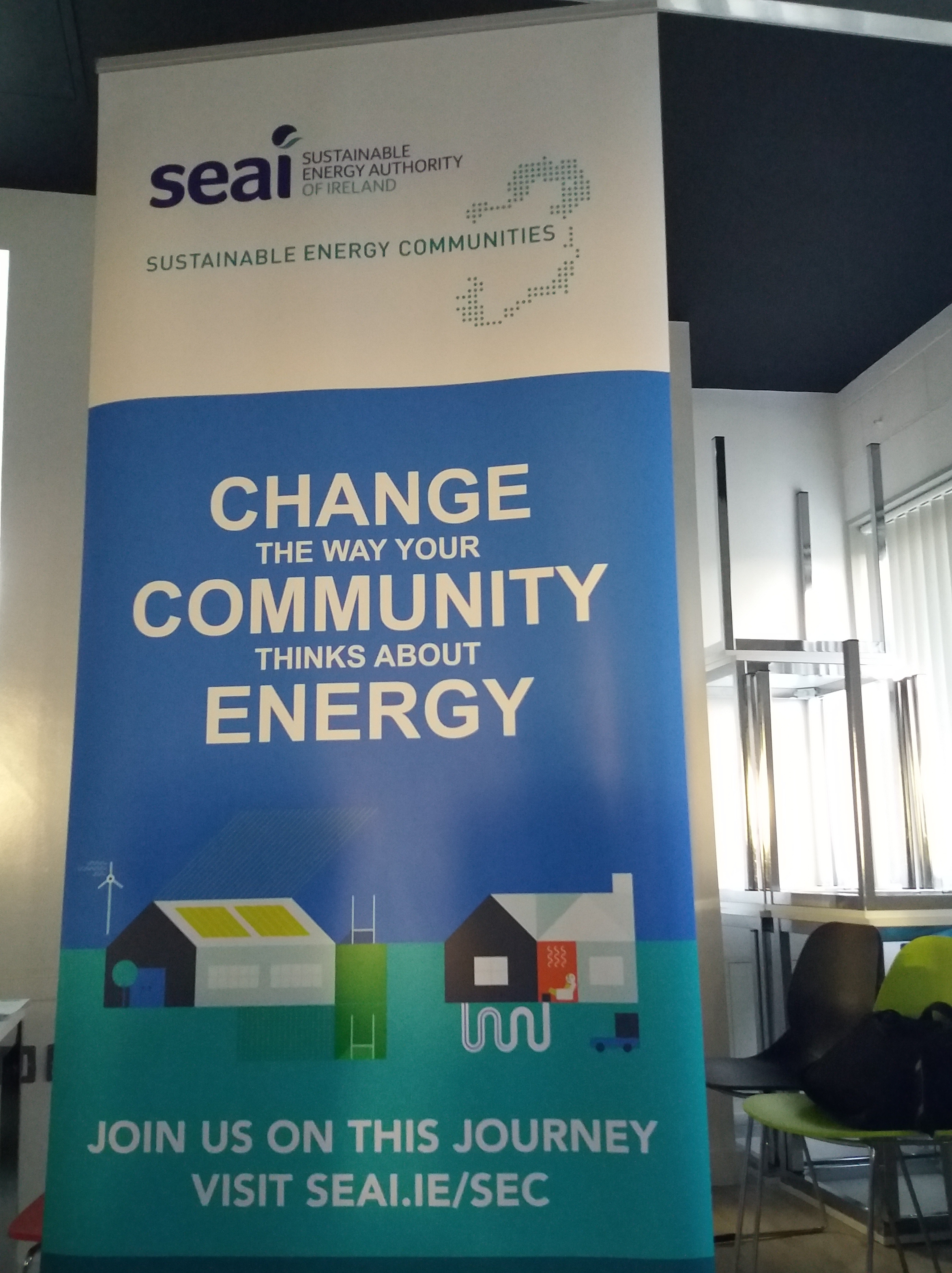 GEAI at SEAI 2017 National Event on Sustainable Energy Communities