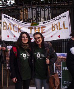 back the bill evs volunteers