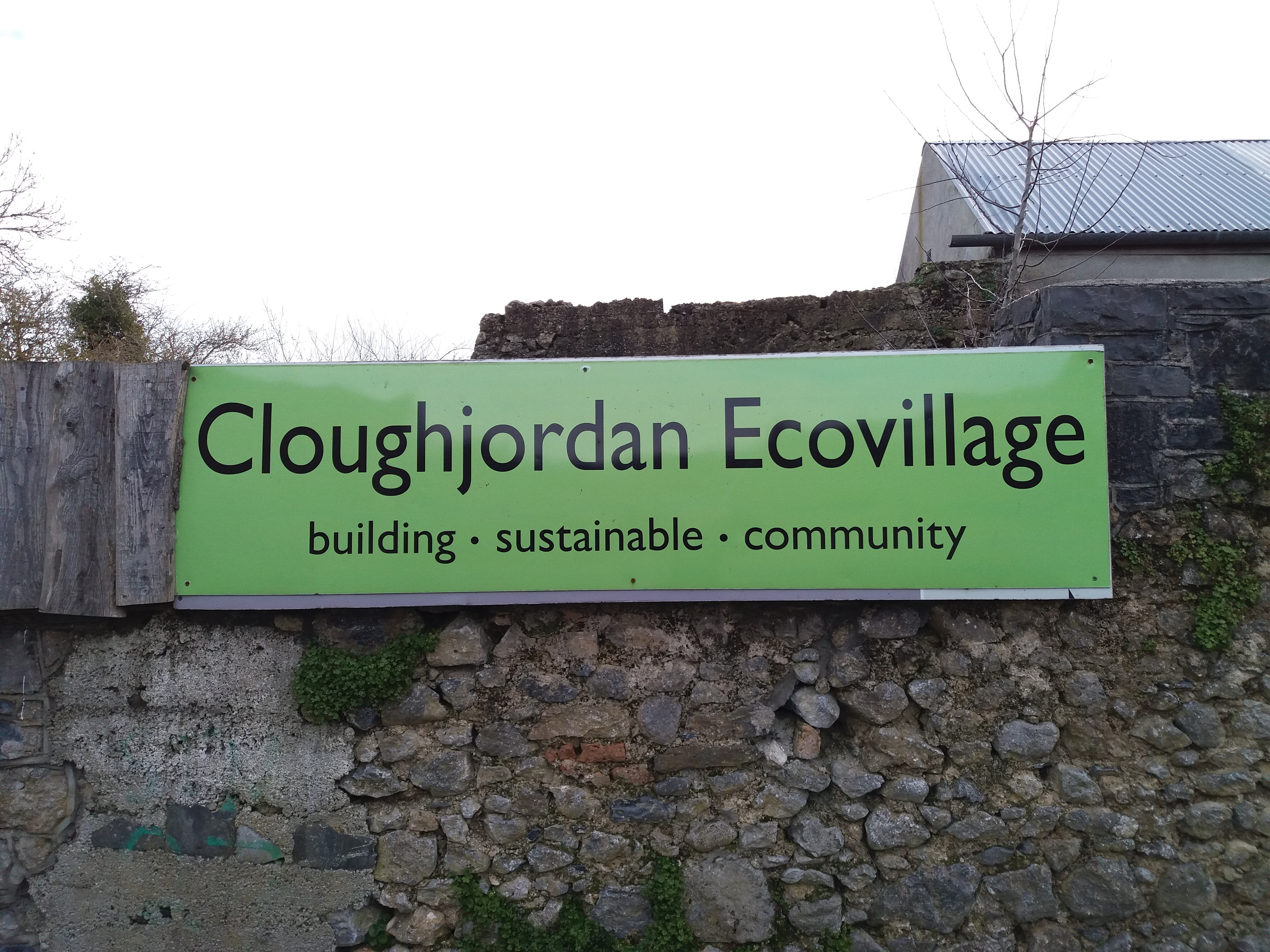 GEAI field trip to Cloughjordan, the eco-village