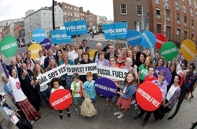 Ireland Fossil Fuel Divestment