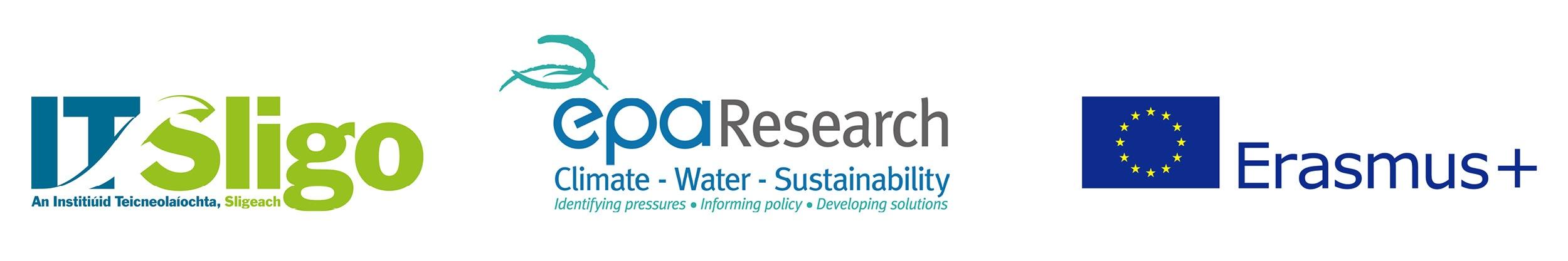 Logos IT Sligo, EPA, Erasmus+