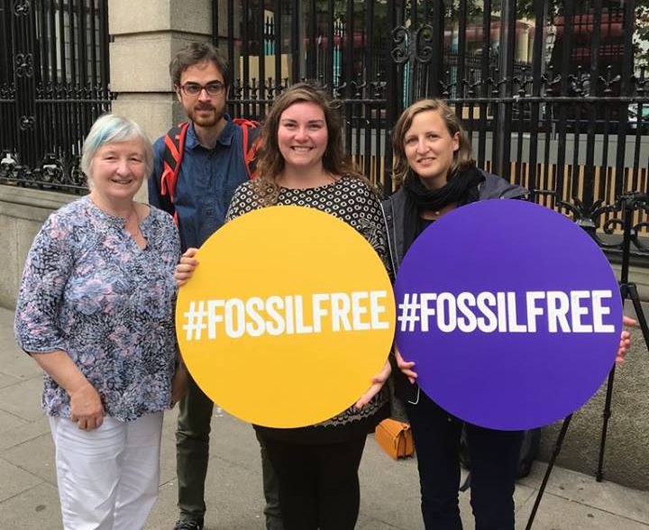 Adoption of the fossil fuels Divestment Bill