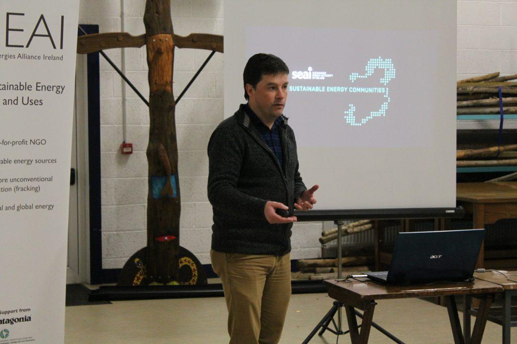 Mel Gavin at Ballinamore's seminar