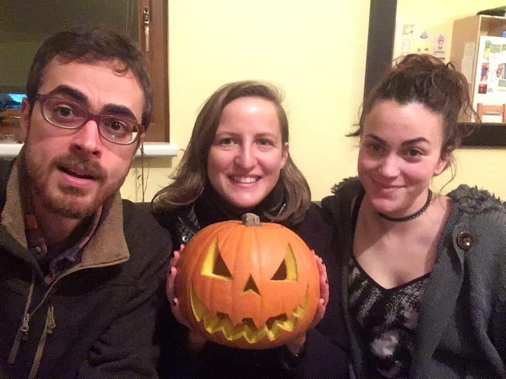 Irish Halloween for our EVS volunteers
