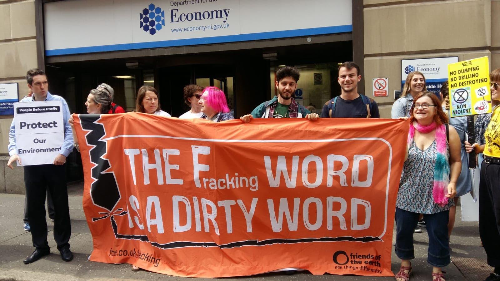 Fracking Fermanagh Strike