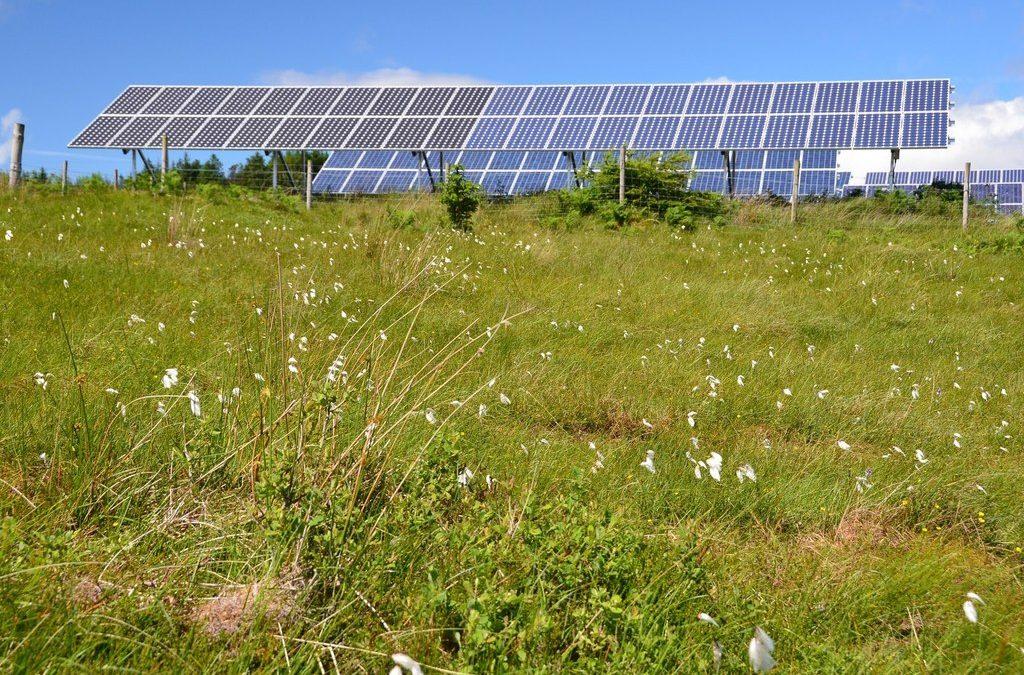 Solar farm, Eigg Electric Jim Barton