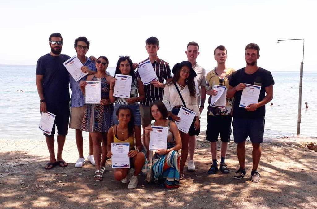 Leitrim volunteers in Greece
