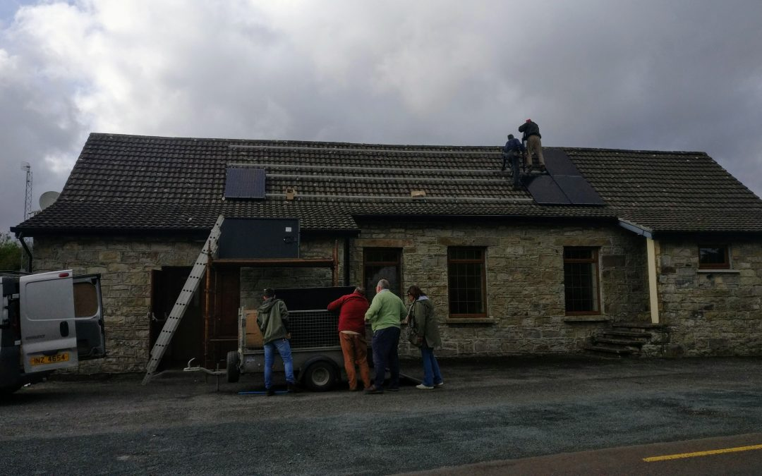 Ballinaglera Hall now powered by Solar!