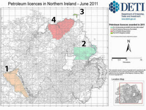Petroleum Licences in Northern Ireland-DETI