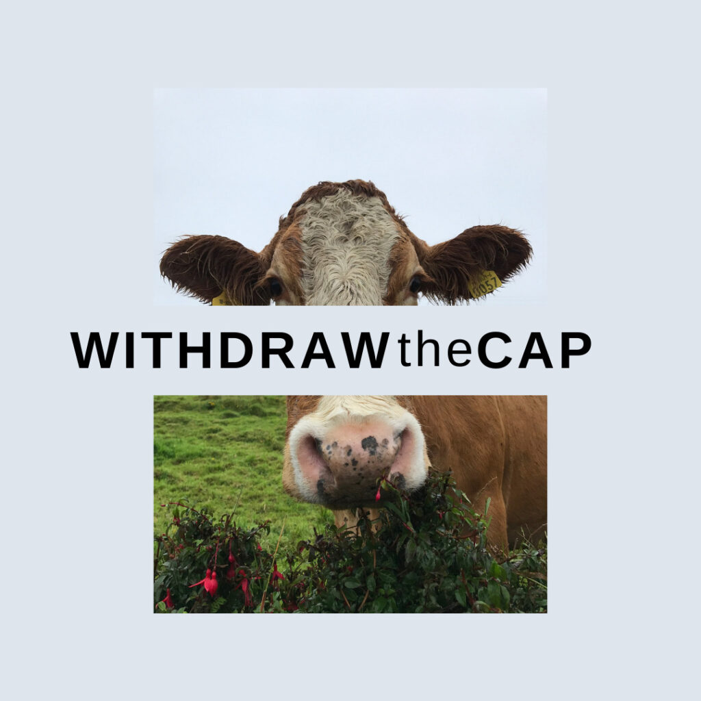 withdraw the cap