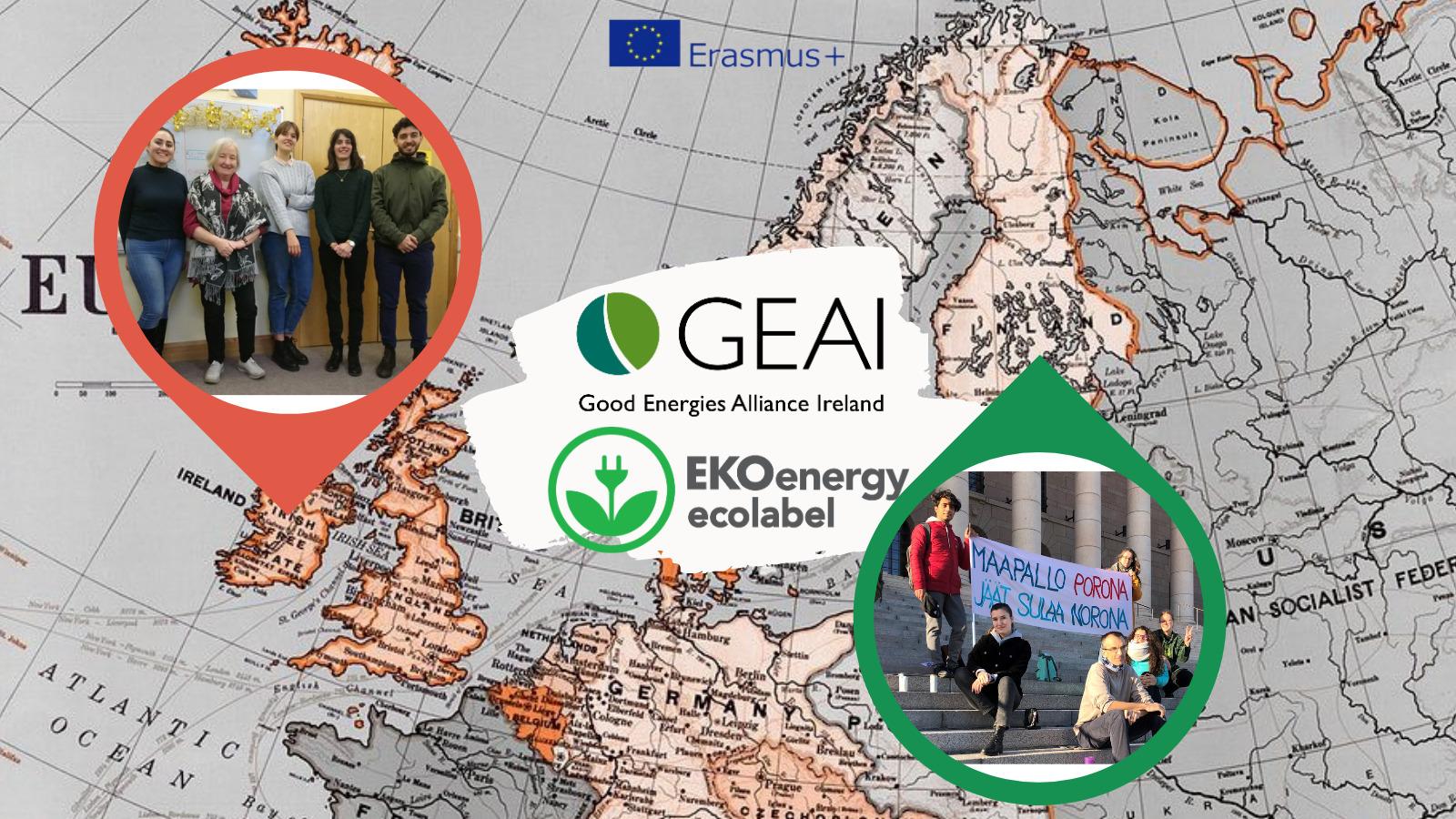 NGOs cooperating towards climate action: Good Energies Alliance Ireland and EKOenergy