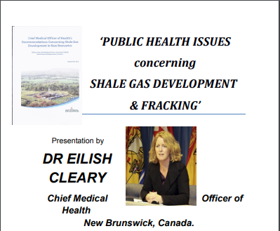 dr eilish cleary talk poster 2012