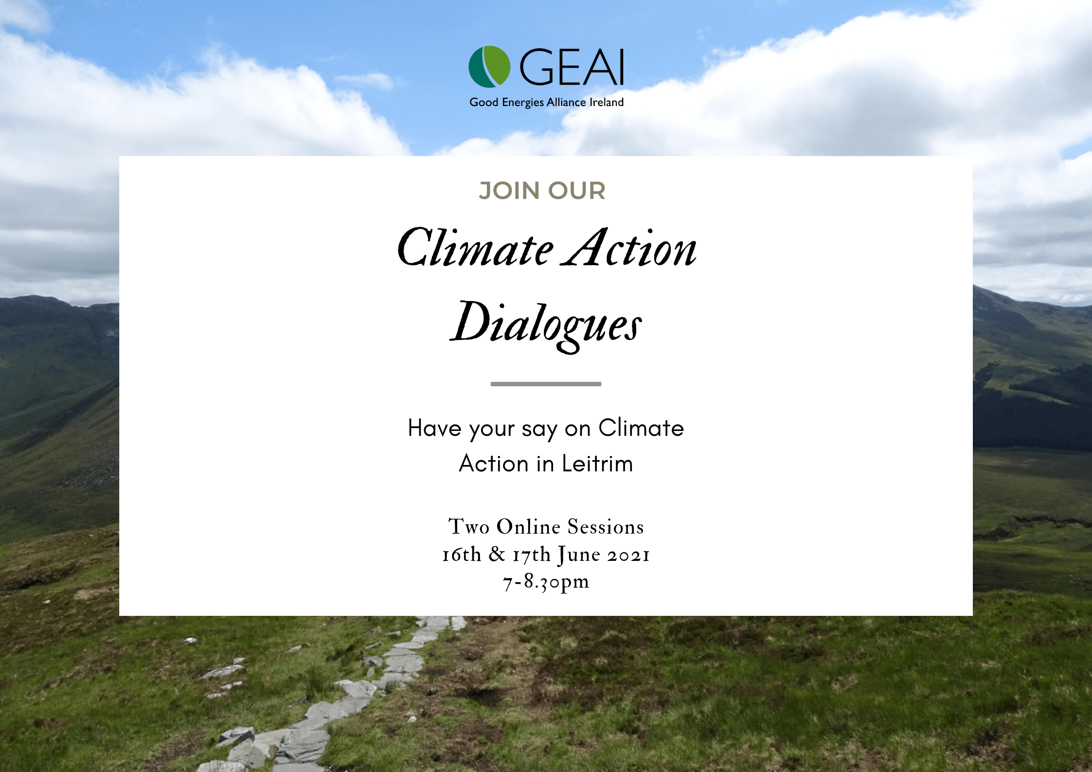 Climate Action Dialogues